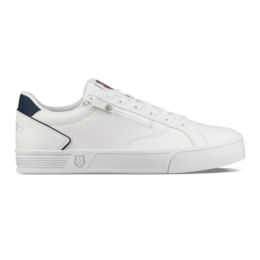 COURT LITE ZIPPER S - WHITE/CORPORATE