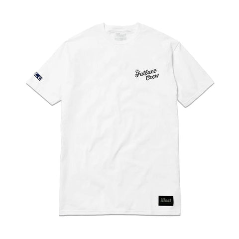The Fatlace Paddock Tee - White