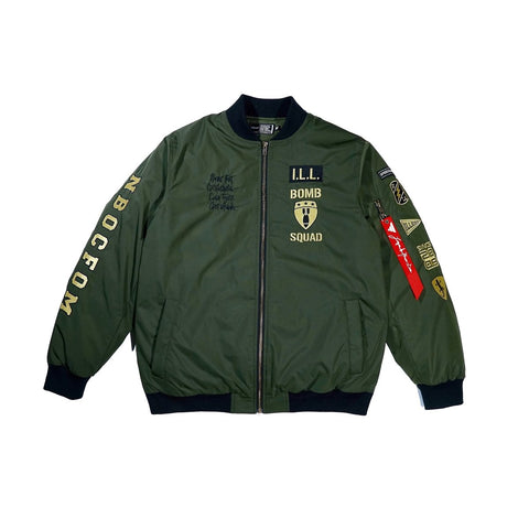 Illest Flight Jacket - Military Green
