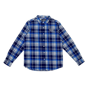 Illest Worldwide Flannel - Blue/White