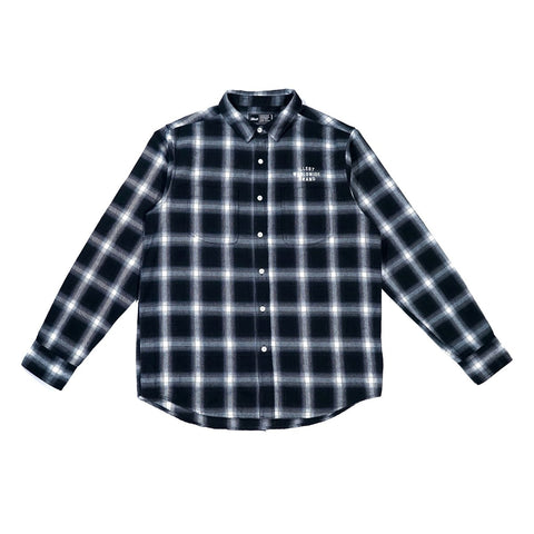 Illest Worldwide Flannel - Black/White