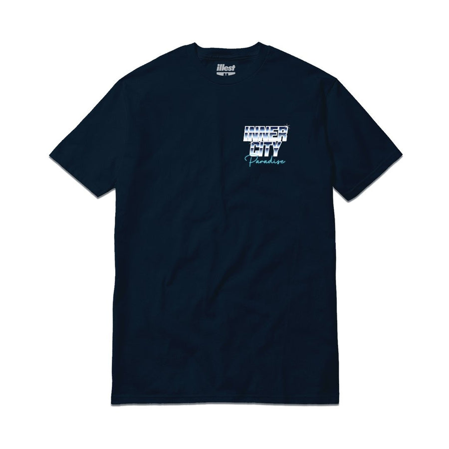 INNER CITY TEE - NAVY BLUE
