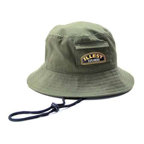 Explorers Camper Cap - Military Green