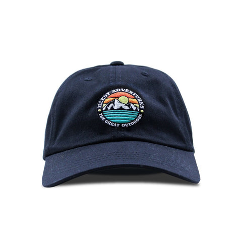 Great Outdoors Dad Cap - Black
