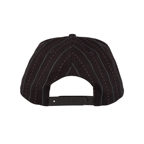 OG Striped Snapback - Black