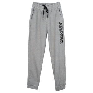 Jogger Pants with Print - Top Dye Gray