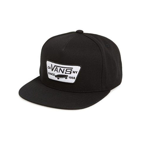 Full Patch Snapback - True Black