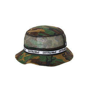 Undertone Bucket Hat - Classic Camo-Black