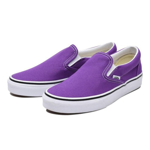 Classic Slip On - Dewberry/True White