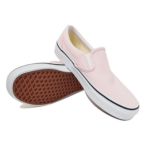 Classic Slip On - Blushing/True White