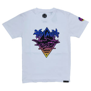Palm Stylish Tee - White