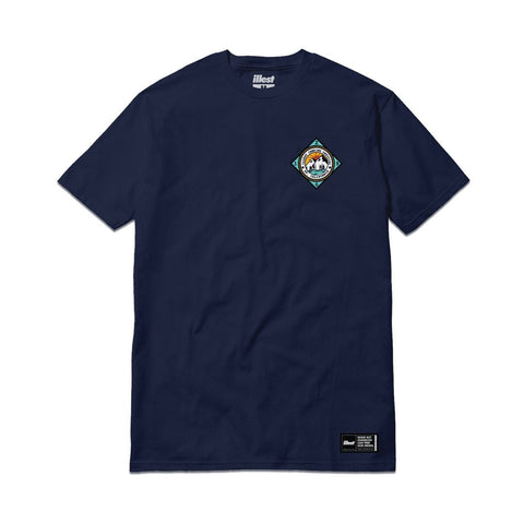 Illest Camping Official Tee - Navy Blue