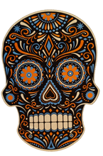Load image into Gallery viewer, Calavera Skull Shirt