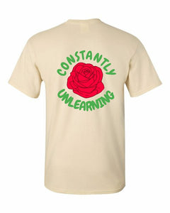 Constantly Unlearning shirt