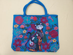 Gatito cat Embroided Shoulder Bag