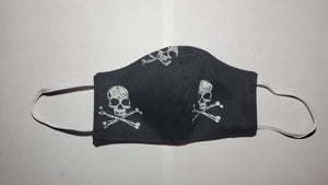 Cross and Skull face mask