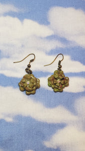 Flor succulent Earrings