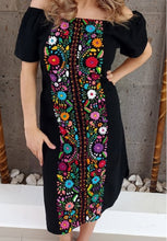 Load image into Gallery viewer, Embroided hand embroided dress