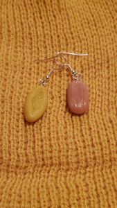 Guajolotas Tamal Bolillo Earrings