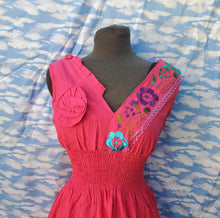 Load image into Gallery viewer, Pink Embroided Dress