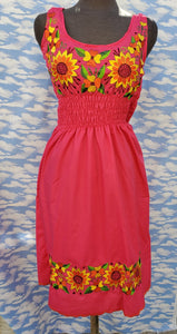 2x hand embroided dress