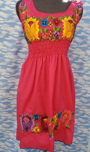 1x hand embroided dress (fits s-1x)