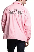 Load image into Gallery viewer, Pink Resilient Windbreaker - Front & Back design