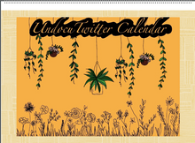 Load image into Gallery viewer, Undocu Twitter Calendar *LIMITED EDITION*
