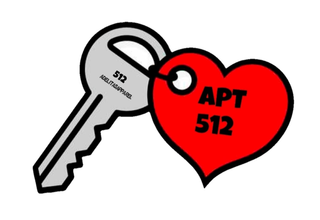 APT. 512 vinyl sticker