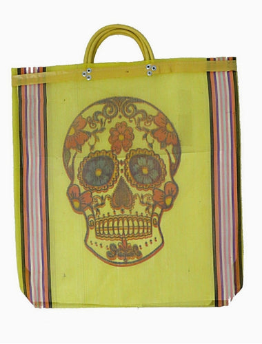 Sugar Skull Mercado Bag