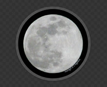 Load image into Gallery viewer, Moon vinyl sticker