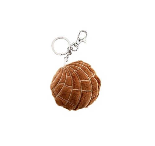 Chocolate Concha Key Chain