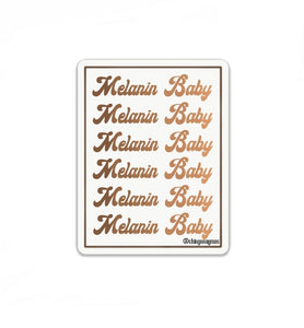 Melanin Baby Stickers