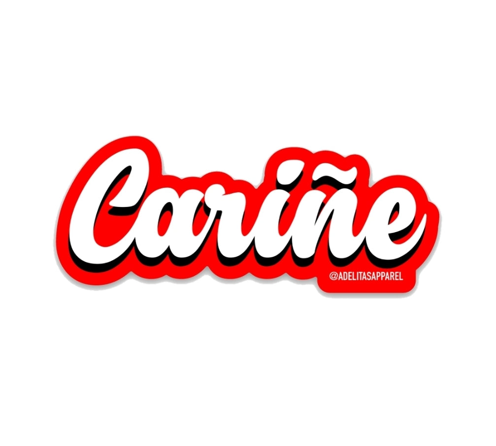 Cariñe Sticker
