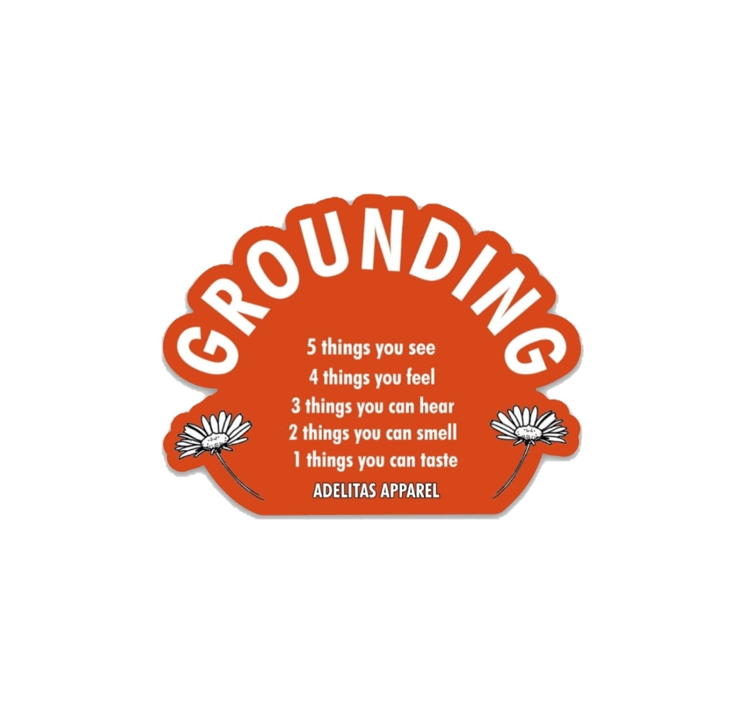 Grounding Technique sticker