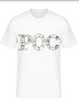 Load image into Gallery viewer, P.O.C (Person Of Color) POC  White shirt