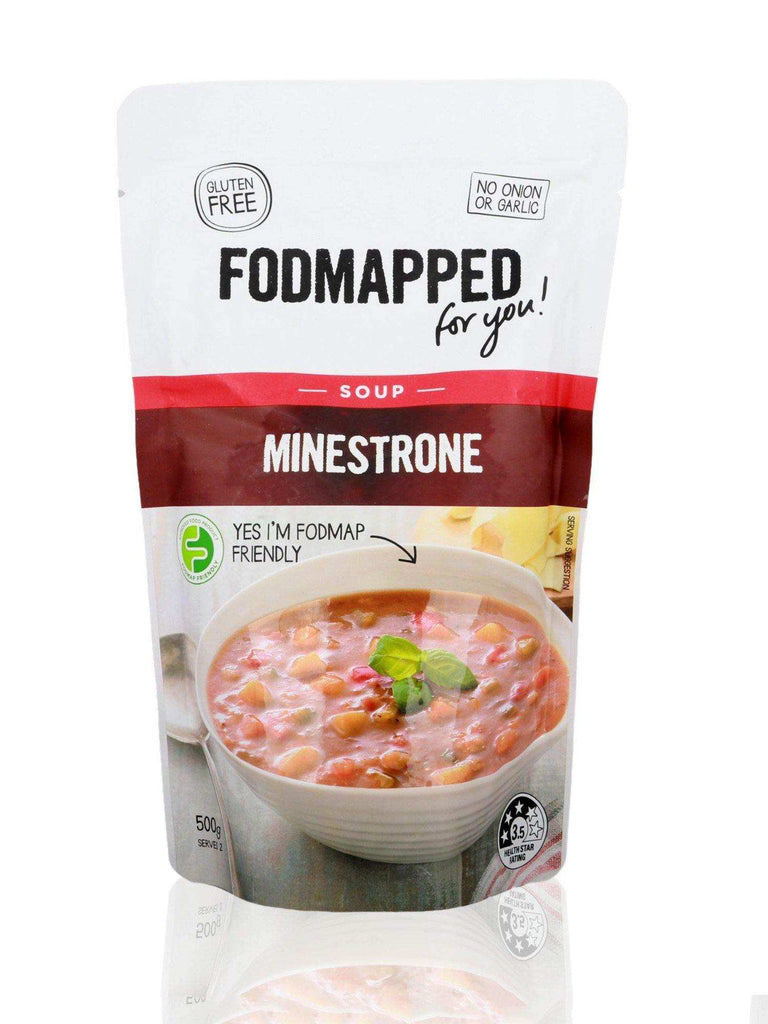 Fodmapped Minestrone Soup 500g - Healthy Essentials Australia - health food store - health food stores - health food store near me - organic food store - health food store near me