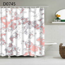 Load image into Gallery viewer, YOMDID Marble Pattern Bath curtain Waterproof Shower Curtains Geometric Bath Screen Printed Curtain for Bathroom Gift Navidad
