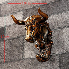 Load image into Gallery viewer, Home Statue Decoration Accessories 34x28x14cm Vintage Antelope Head Abstract Sculpture Room Wall Decor Resin Deer Head Statues