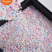 Load image into Gallery viewer, 10g/bag Colorful Foam Ball Gift Box Filler Candy Box Gift Packing Supplies Birthday Party Decorations Wedding Flower Box Filler