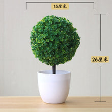 Load image into Gallery viewer, NEW Artificial Plants Bonsai Small Tree Pot Plants Fake Flowers Potted Ornaments For Home Decoration Hotel Garden Decor