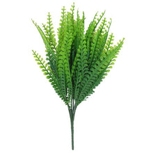 Load image into Gallery viewer, 7 Fork water grass Eucalyptus Plastic Artificial Plants Green Grass plastic flower Plant Wedding Home Decoration Table Decors