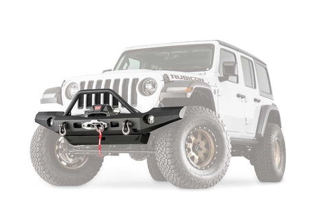Warn Elite Full Width Bumper with Grille Guard Tube For JL and JT