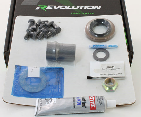 Toyota 8 Inch Master Kit for 2016+ Tacoma W/o Factory Locker Revolution Gear and Axle
