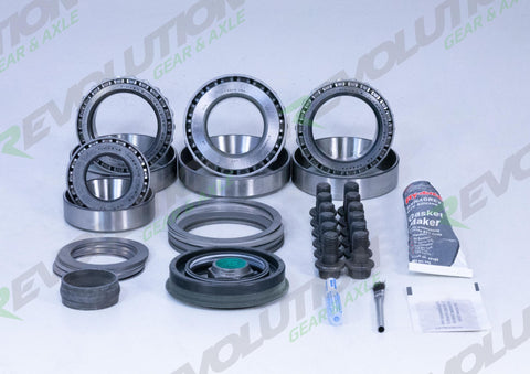 GM 8.875 Inch 12 Bolt Car 3.73 Ratio Thin 4.10 and Up Case Gear Set Revolution Gear and Axle