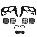 Silverado 1500 Fog Pocket Kit 14-15 FPK, SAE Clear W/C & Sport D/C Baja Designs