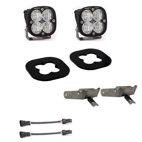 Super Duty Fog Lights Squadron Sport 11-16 Super Duty Fog Pocket Kit Baja Designs