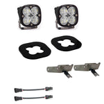 Super Duty Fog Lights Squadron Pro 11-16 Super Duty Fog Pocket Kit Baja Designs