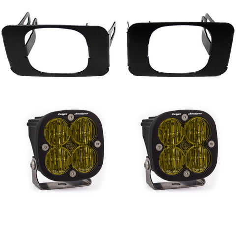 Super Duty Fog Lights SAE Amber FPK 17-18 F-150 Baja Designs