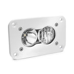 LED Work Light Flush Mount Clear Lens Driving Combo Pattern White S2 Pro Baja Designs